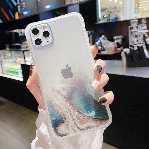 NEW iPhone 12/11/Pro/Max/XR QuickSand Galaxy case